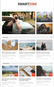 Smartzine WordPress theme, Best blog WP Theme, Magazine, News, WP, Theme, Download,Review
